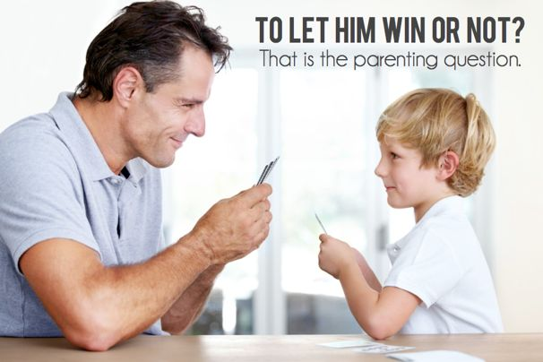 When to Let Kids Win - (cool) progeny