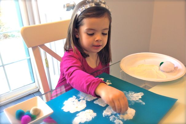 cool progeny snowflake glitter craft