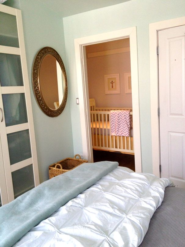 make room for baby: crib nook  - (cool) progeny