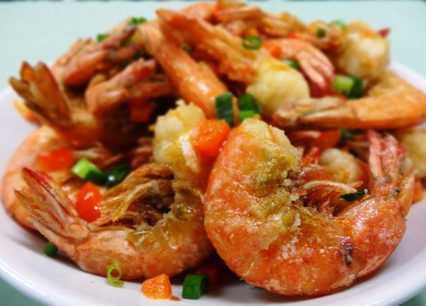 Chinese New Year - Salt & Pepper Shrimp - (cool) progeny
