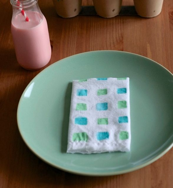 The Art of Etiquette - DIY Napkins - (cool) progeny