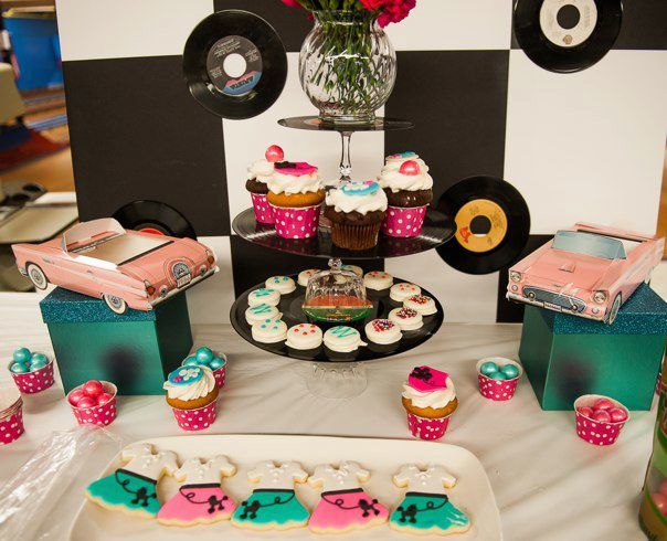 retro sock hop party - (cool) progeny