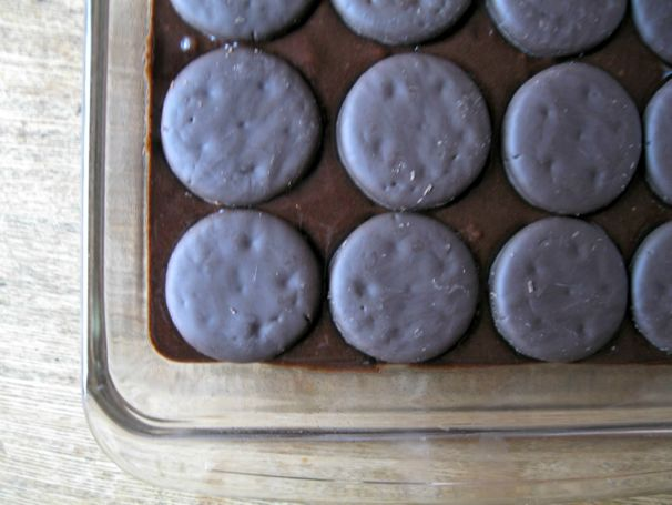Dark Chocolate Thin Mint Brownies - (cool) progeny