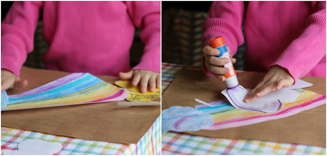 Crafty Kids: Lucky Rainbow Placemats - (cool) progeny