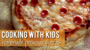 Homemade Personal Pizzas - (cool) progeny