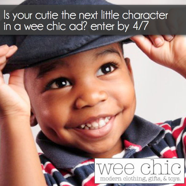 Wee Chic Little Characters Search 2013