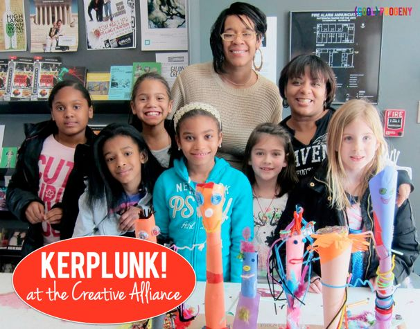 Kerplunk! At the Creative Alliance - (cool) progeny