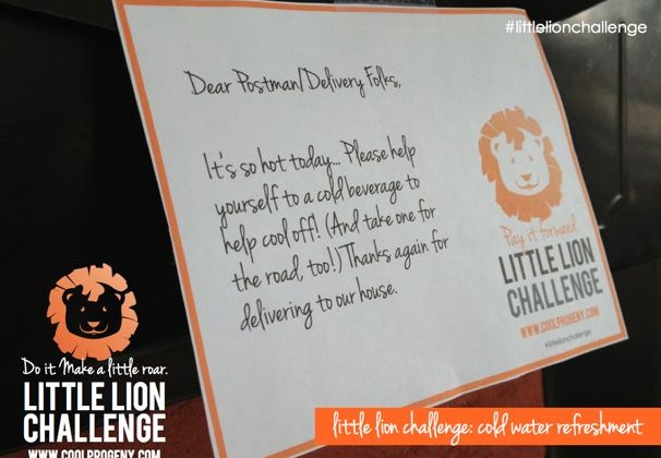 Take the Little Lion Challenge - (cool) progeny