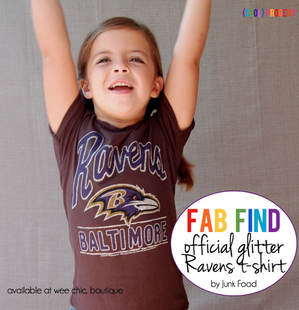 Fab Find: Glitter Ravens T-Shirt by Junk Food - (cool) progeny