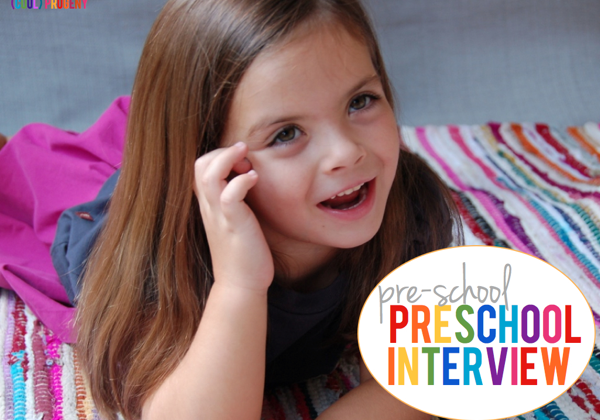 Pre-School Preschool Interview - (cool) progeny