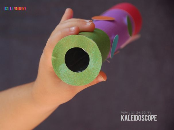 Homemade Kaleidoscope - (cool) progeny