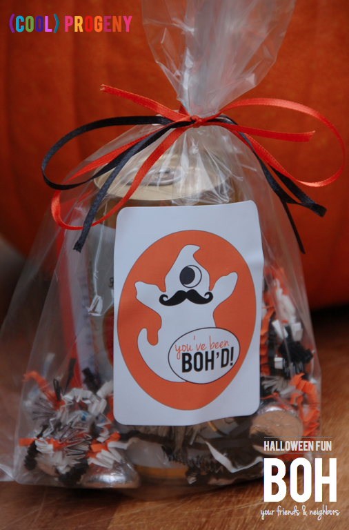 FREE Printable! BOH Your Grown-Up Friends this #Halloween Season! - (cool) progeny