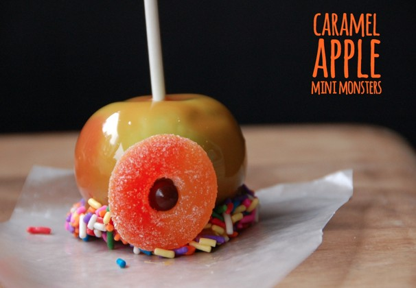 How To Make Caramel Apple Mini Monsters - (cool) progeny