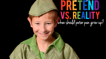 Pretend vs. Reality: When Should Peter Pan Grow Up? - (cool) progeny