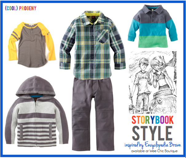 Storybook Style: Inspired by Encyclopedia Brown - (cool) progeny