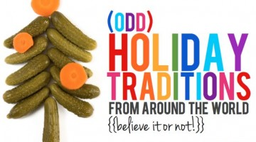 Odd Holiday Traditions from Around the World - (cool) progeny