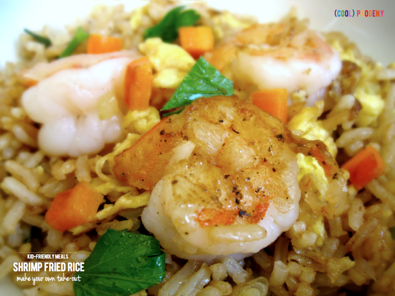 Make Your Own Take-Out: Delicious + Quick Shrimp Fried Rice - (cool) progeny