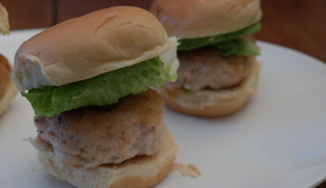Smokey Turkey Burgers - (cool) progeny