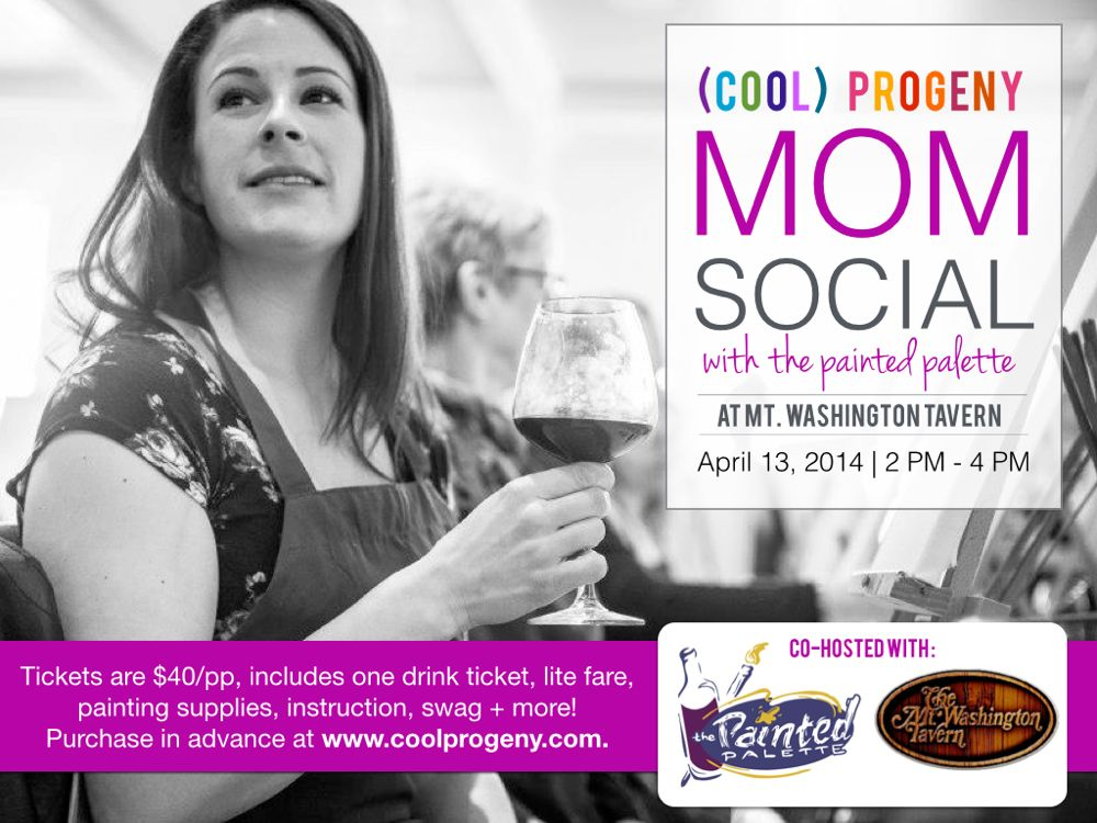 (Cool) Progeny Mom Social with The Painted Palette