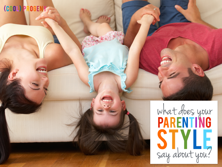 What does your parenting style say about YOU? - (cool) progeny
