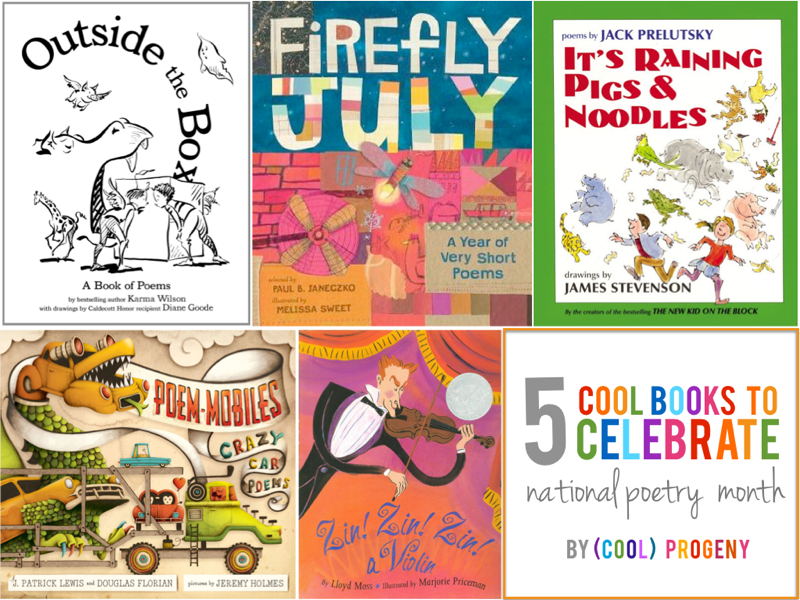 Cool Poetry Books for Kids - (cool) progeny