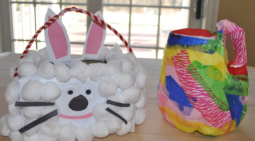 How To Make Recycled Easter Baskets - (cool) progeny
