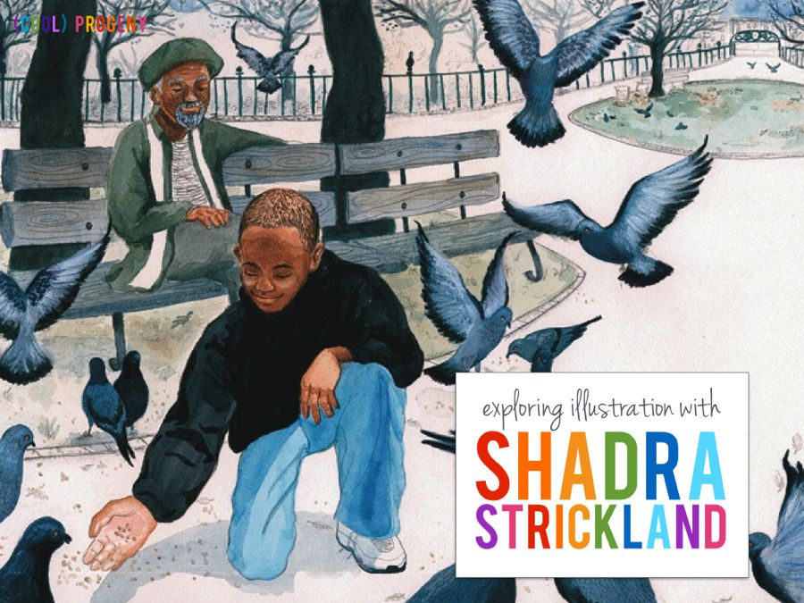 exploring illustration with shadra strickland - (cool) progeny