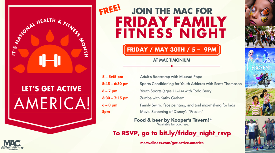 Family Fitness Night at the MAC - (cool) progeny