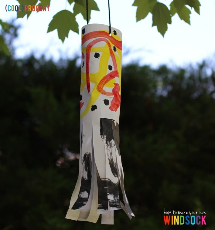 How to Make Your Own Windsock - (cool) progeny