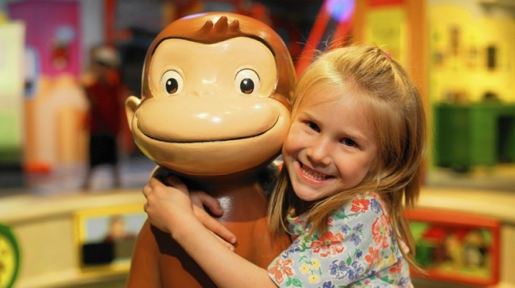 Curious George at Port Discovery - (cool) progeny