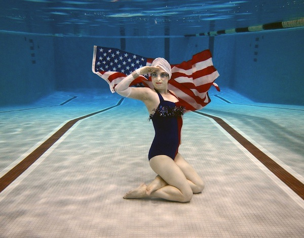 Fluid Movement Star Spangled Swimmer - (cool) progeny