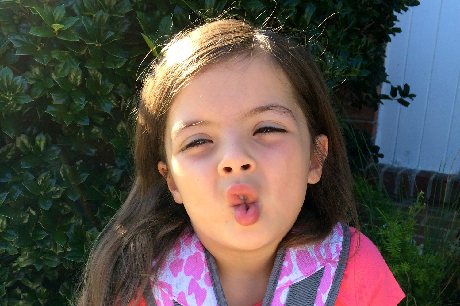 Back to School Fish Face Contest - (cool) progeny