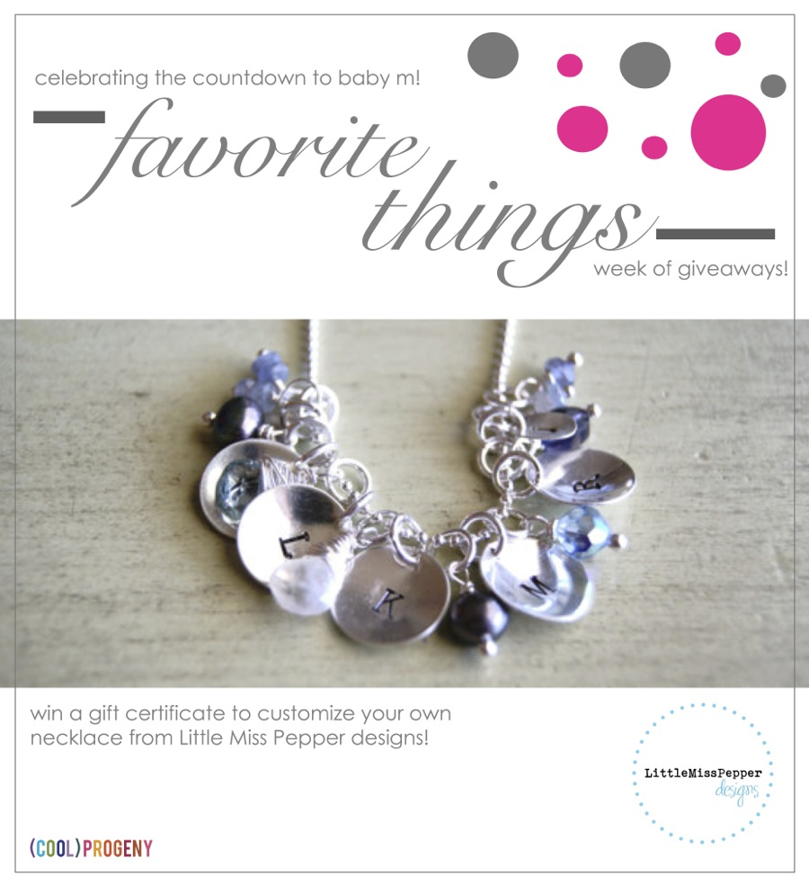 Favorite Things #Giveaway! Little Miss Pepper Designs Necklace - (cool) progeny