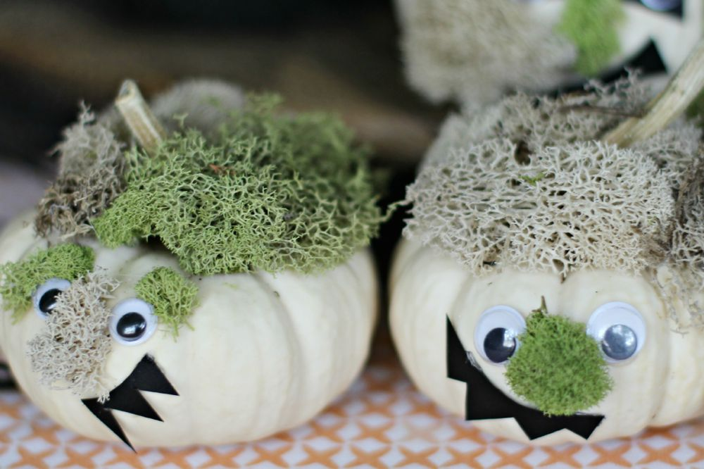 DIY Monster Pumpkins - (cool) progeny