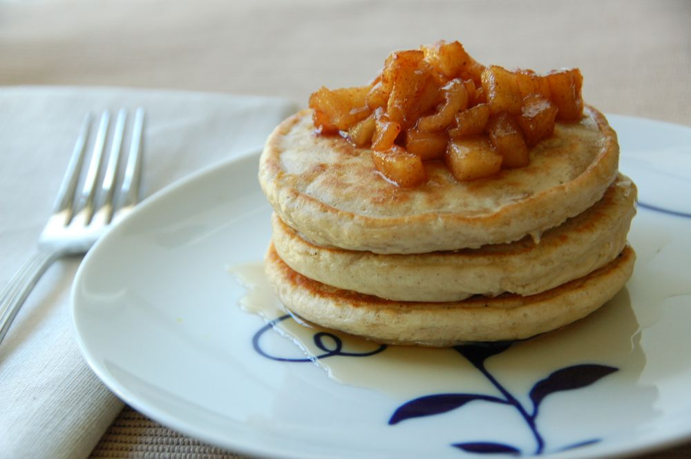 apple cinnamon pancakes - (cool) progeny