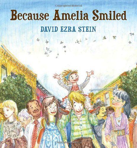 Books that Celebrate Kindness - Because Amelia Smiled; (cool) progeny