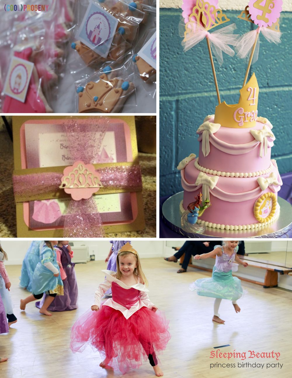 Sleeping Beauty Birthday Party at Coppermine Fieldhouse- (cool) progeny