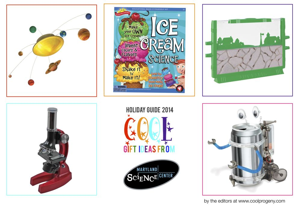 2014 Baltimore Holiday Gift Guide: Gifts for Pint-Sized Scientists  from the Maryland Science Center - (cool) progeny