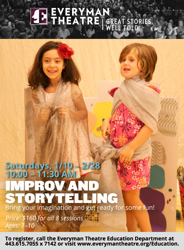 Improv Storytelling at Everyman Theatre - (cool) progeny