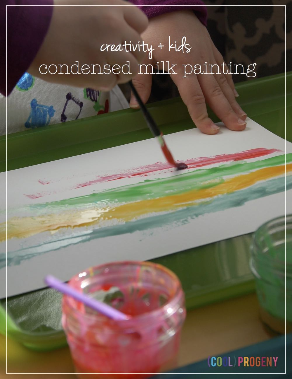 condensed milk painting - (cool) progeny