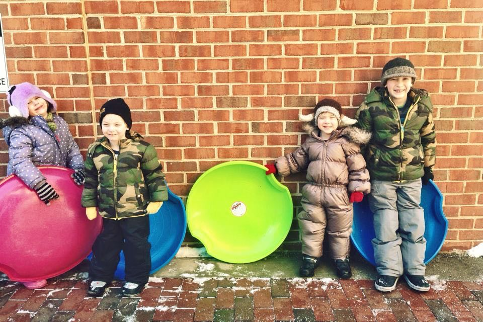 Snow Day Fun in #Baltimore - #coolprogeny