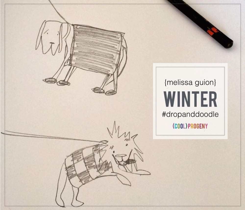 Drop Everything and Doodle: WINTER, by Melissa Guion - (cool) progeny