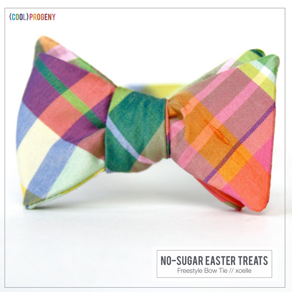 Easter Treats Without the Sweet: Spring Bowtie, xoelle