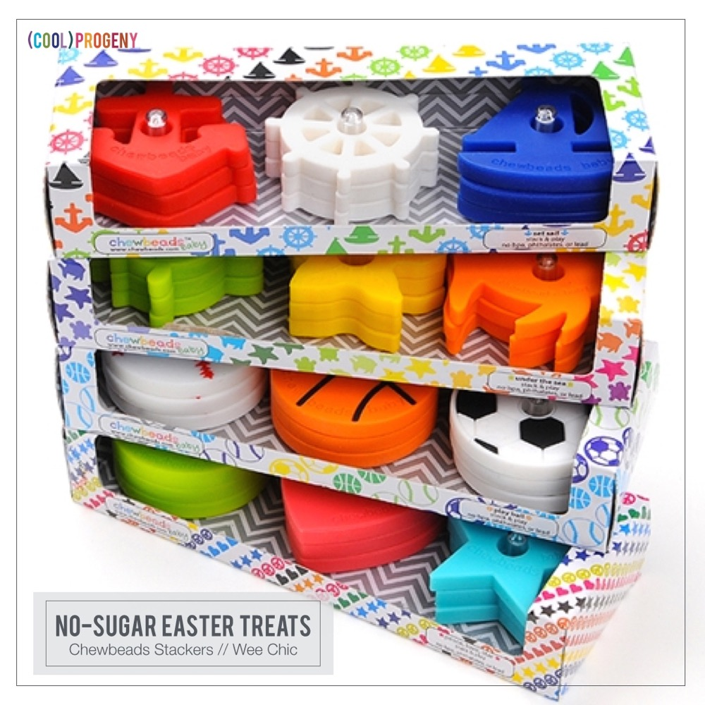 Easter Treats Without the Sweet: Chewbeads Stacker, Wee Chic Boutique