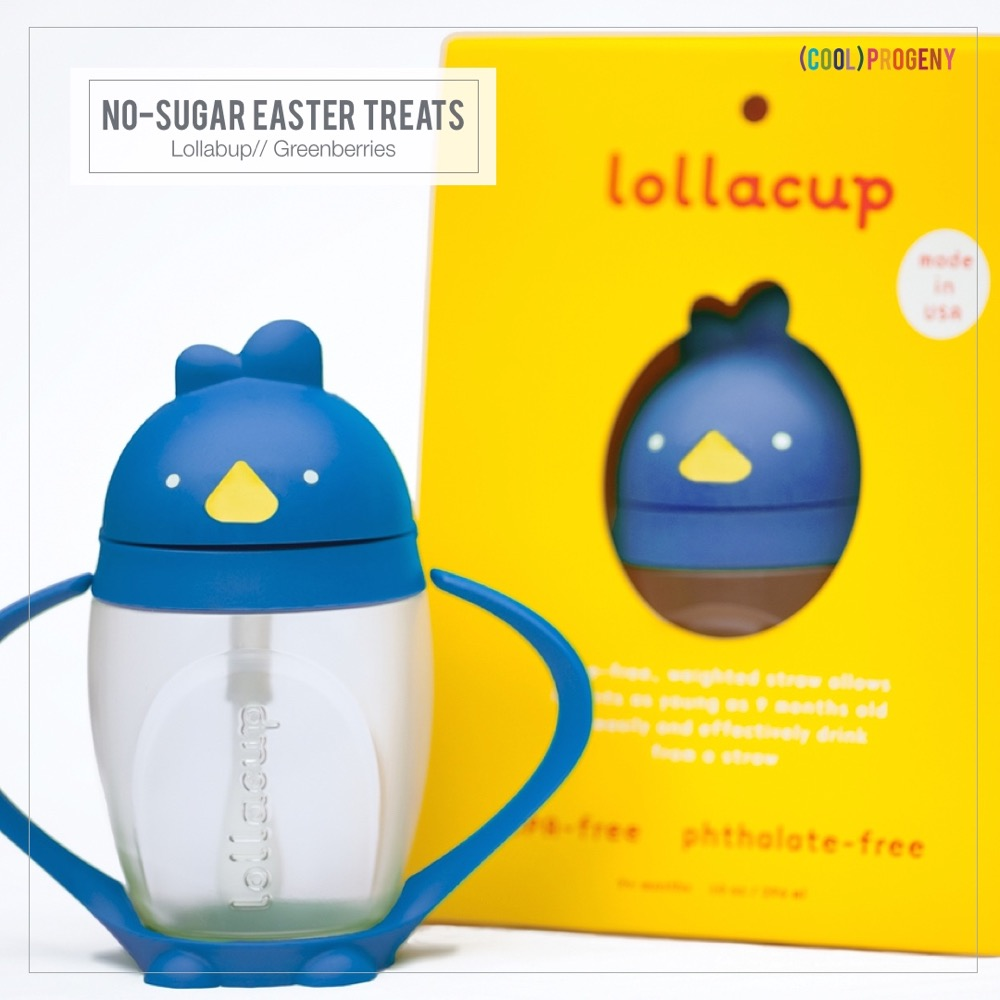 Easter Treats Without the Sweet: Lollacup, Greenberries