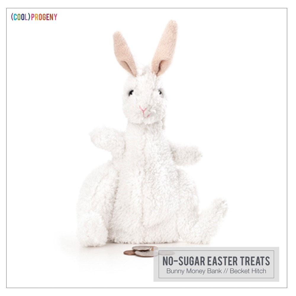 Easter Treats Without the Sweet: Bunny Bank , Becket Hitch