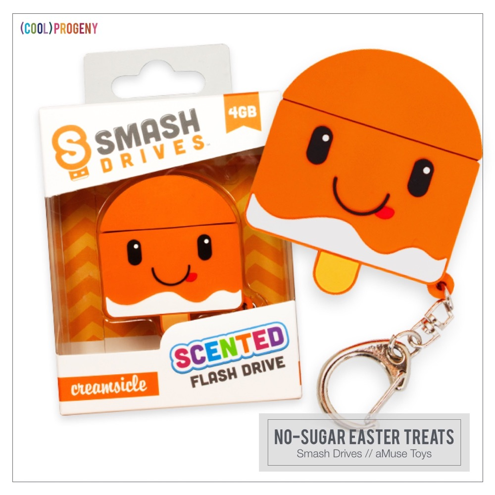 Easter Treats Without the Sweet: Smash Drives, aMuse Toys
