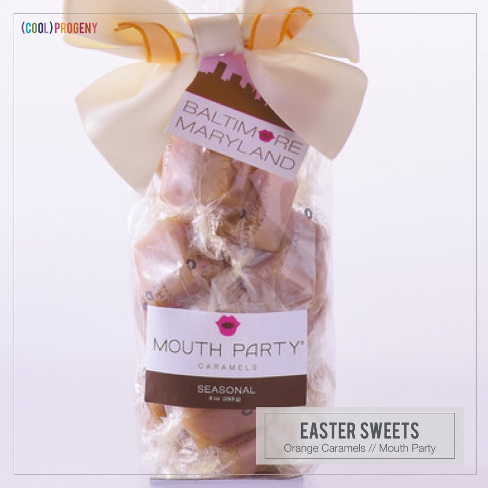 Easter Sweets: Mouth Party Caramels #CoolProgeny #CoolPicks #Baltimore #Easter