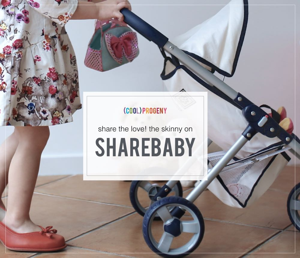 Share the baby love! All about Sharebaby - www.coolprogeny.com