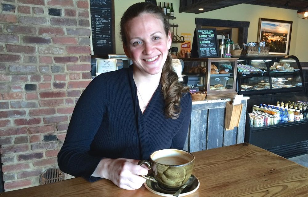 Coffee with Kathy Schott, Play Cafe Baltimore - (cool) progeny